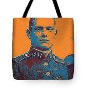 Portrait Of A Young  Wwi Soldier Series 12 Tote Bag