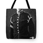 Portrait Of A Young  Wwi Soldier Series 13 Tote Bag