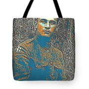 Portrait Of A Young  Wwi Soldier Series 16 Tote Bag