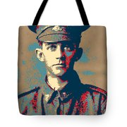 Portrait Of A Young  Wwi Soldier Series 19 Tote Bag