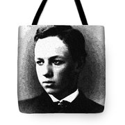 Portrait Of A Youth 30 By Adam Asar -  Asar Studios Tote Bag