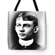 Portrait Of A Youth 36 By Adam Asar -  Asar Studios Tote Bag