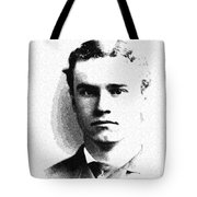 Portrait Of A Youth 37 By Adam Asar -  Asar Studios Tote Bag