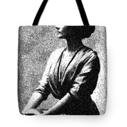 Portrait Of A Youth 44 By Adam Asar -  Asar Studios Tote Bag
