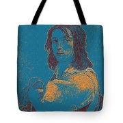 Portrait Of A Youth 50 By Adam Asar -  Asar Studios Tote Bag