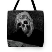 Portrait Of A Zombie Tote Bag