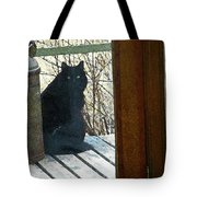 Portrait Of Abby Tote Bag