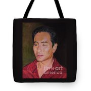 Portrait Of Actor Anthony Brandon Wong Tote Bag