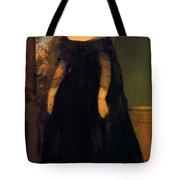 Portrait Of Actress Fanny Janauscher Tote Bag