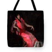 Portrait Of Actress Suzanne Santje Tote Bag
