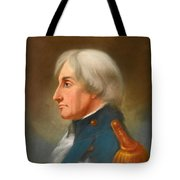 Portrait Of Admiral Lord Nelson Tote Bag