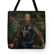 Portrait Of Alfonso I D Este 1530 Tote Bag