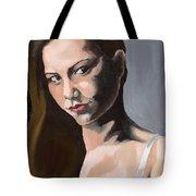 Portrait Of Amanda Tote Bag