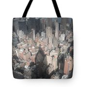 Portrait Of America - Cast A Long Shadow Tote Bag