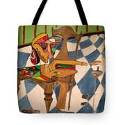 Portrait Of An Artist Tote Bag