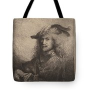 Portrait Of An Officer Tote Bag