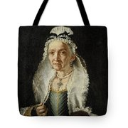 Portrait Of An Old Lady Tote Bag
