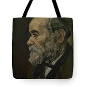 Portrait Of An Old Man Antwerp December 1885 Vincent Van Gogh 1853  1890 Tote Bag