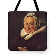 Portrait Of An Old Woman 1645 Tote Bag