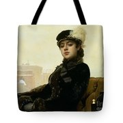 Portrait Of An Unknown Woman Tote Bag
