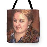 Portrait Of Andrea Tote Bag