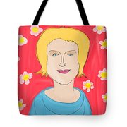 Portrait Of Ania Tote Bag