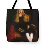 Portrait Of Anne M Tucker 1926 Tote Bag