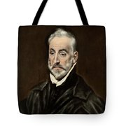 Portrait Of Antonio De Covarrubias Tote Bag