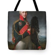 Portrait Of Arkady Alexandrovich Suvorov Tote Bag