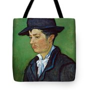 Portrait Of Armand Roulin Tote Bag