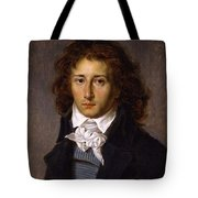 Portrait Of Artist Francois Gerard, Aged 20, Ca 1790 By Antoine-jean Gros. Tote Bag