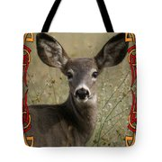 Portrait Of Bambi Tote Bag