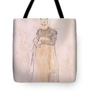 Portrait Of Baroness Papenheim Tote Bag