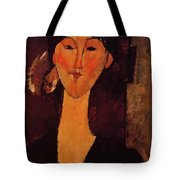 Portrait Of Beatrice Hastings 1915 Tote Bag