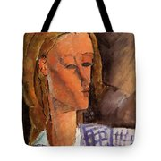 Portrait Of Beatrice Hastings 1916 Tote Bag