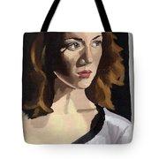 Portrait Of Becca Tote Bag