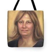 Portrait Of Birdie Tote Bag