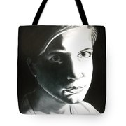 Portrait Of Bridget L. Tote Bag