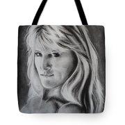 Portrait Of  Carla Tote Bag