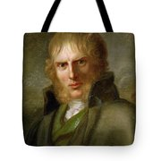 portrait of Caspar David Friedrich Tote Bag