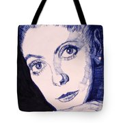 Portrait Of Catherine Tote Bag