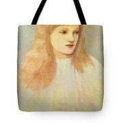 Portrait Of Cecily Horner Tote Bag