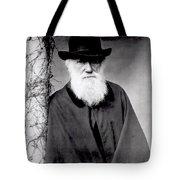 Portrait Of Charles Darwin Tote Bag by Julia Margaret Cameron