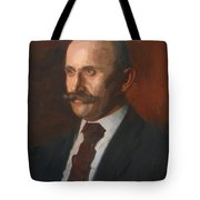 Portrait Of Charles Gruppe 1904 Tote Bag