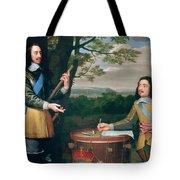 Portrait Of Charles I And Sir Edward Walker Tote Bag