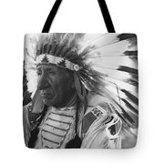 Portrait Of Chief Red Cloud Tote Bag