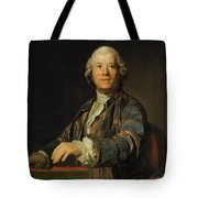 Portrait Of Christoph Willibald Ritter Von Gluck Tote Bag