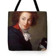 Portrait Of Count Grigory Chernyshev With A Mask In His Hand     Lisabeth Louise Vige Le Brun Tote Bag