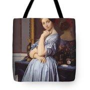 Portrait Of Countess D Haussonville Tote Bag