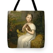 Portrait Of Countess Louise Bose As A Child Tote Bag